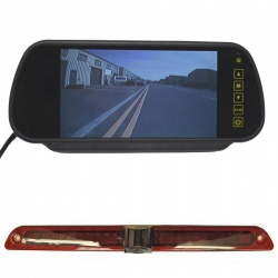 7 inch mirror monitor monitor and Mercedes Sprinter brake light camera