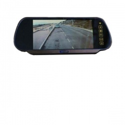 7 inch clip over the mirror monitor
