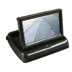 4 inch flip up rear view monitor