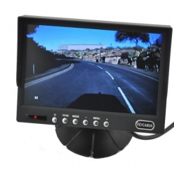 7 inch stand on dash monitor with grid lines