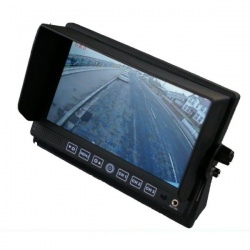 Heavy duty 7 inch rear view monitor