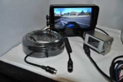 7'' colour dual voltage reversing camera system