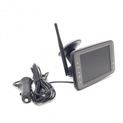 5 inch digital wireless suction mount monitor